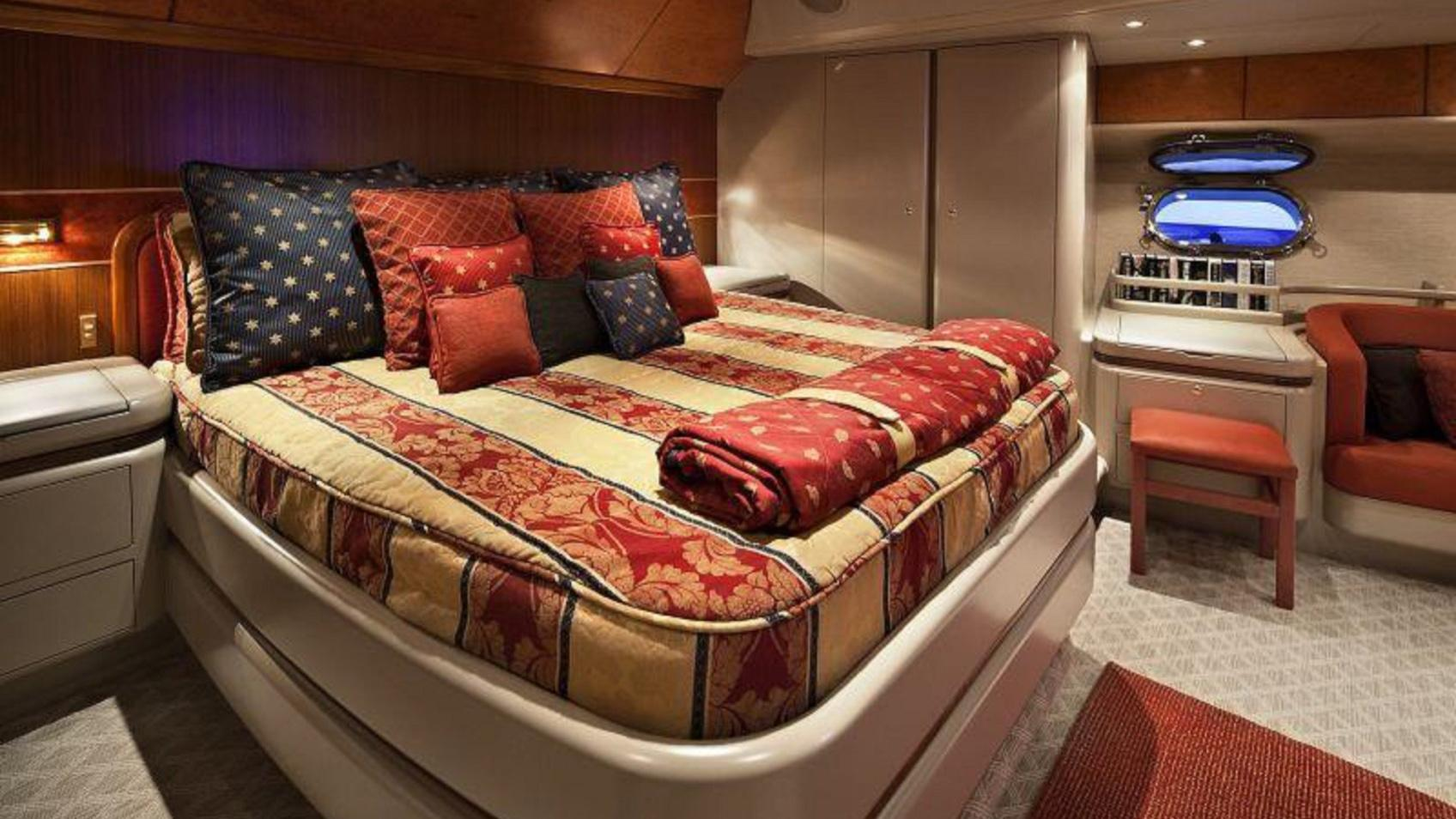 Alloy 106 Megayacht Sailboat for Sale Master Bed