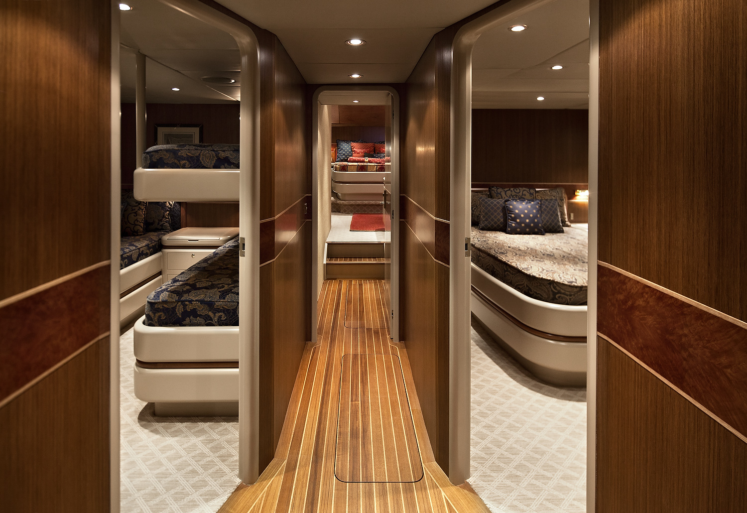 Alloy 106 Megayacht Sailboat 3 cabins