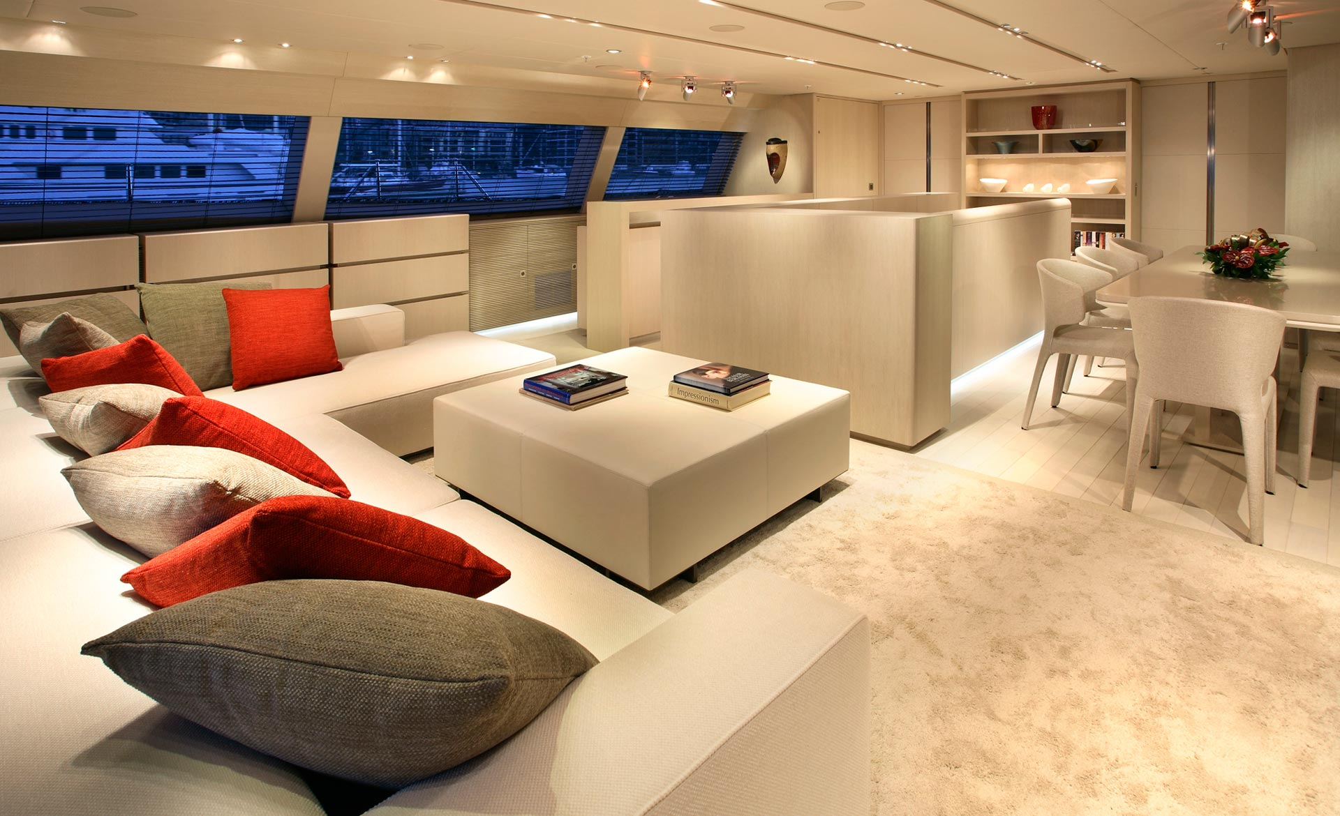 Alloy Yachts Red Dragon Salon