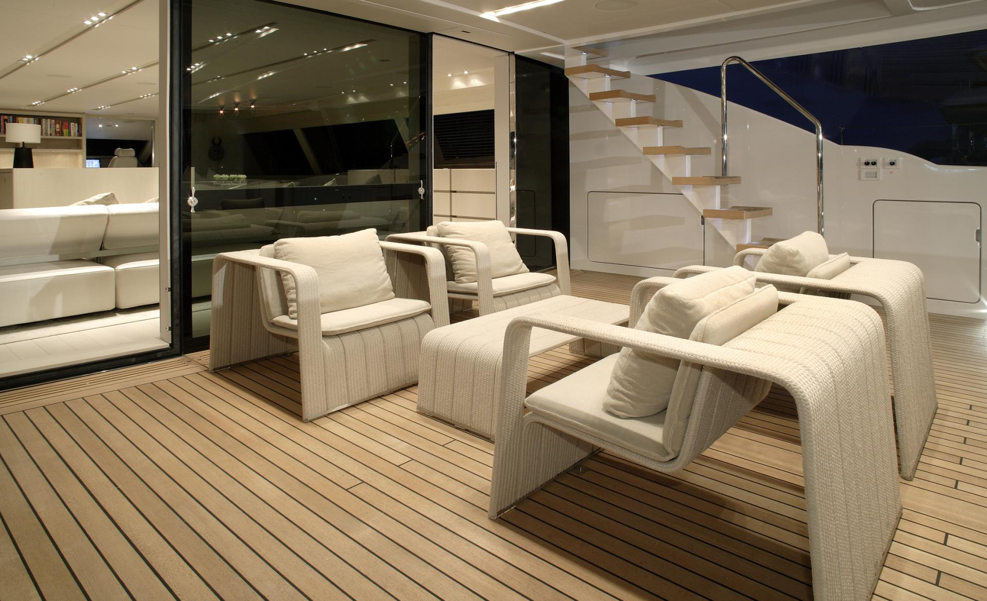Red Dragon Aft Deck