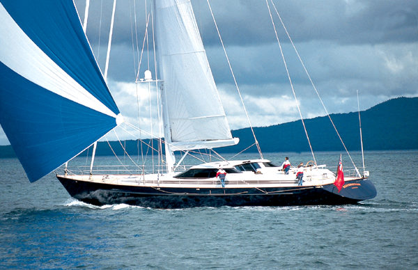 Alloy Yachts Sovereign