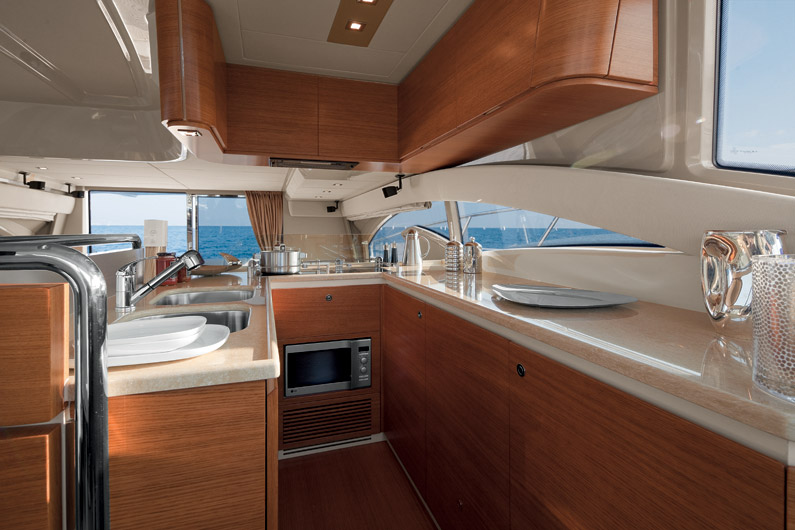 Azimut 60 Flybridge Yacht for Sale Galley