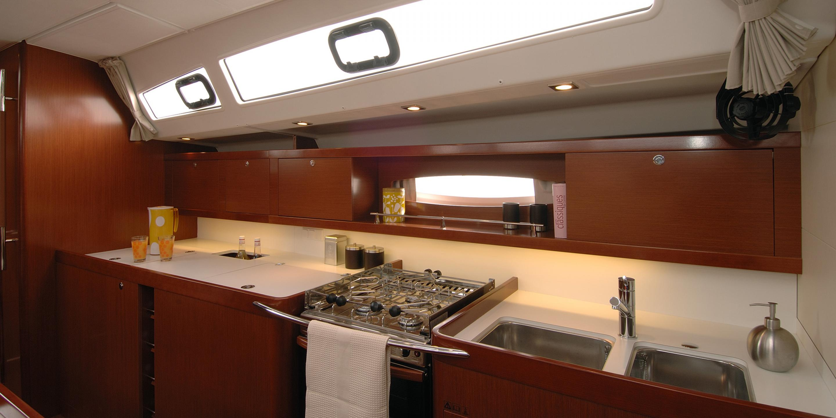 Beneteau Moorings 50.5 Galley