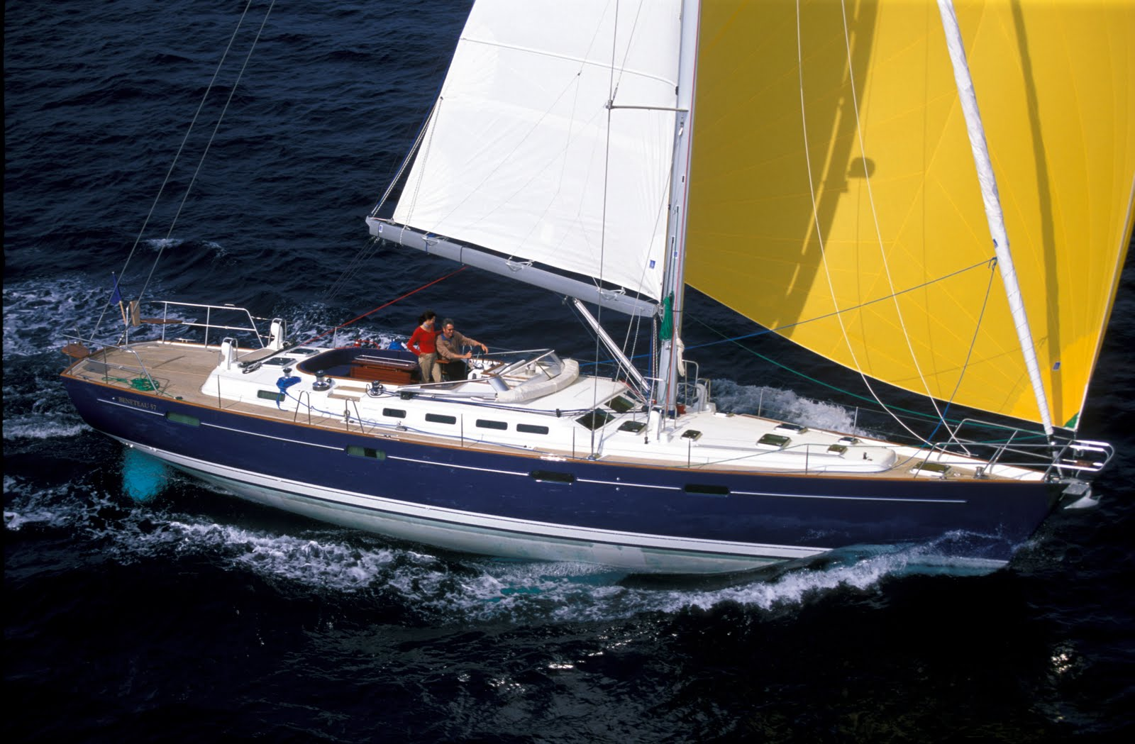 Beneteau 57 Yacht Sailboat for sale