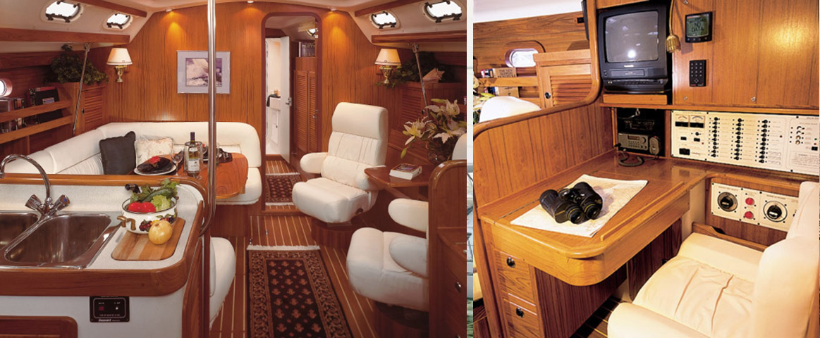 Catalina 470 Interior