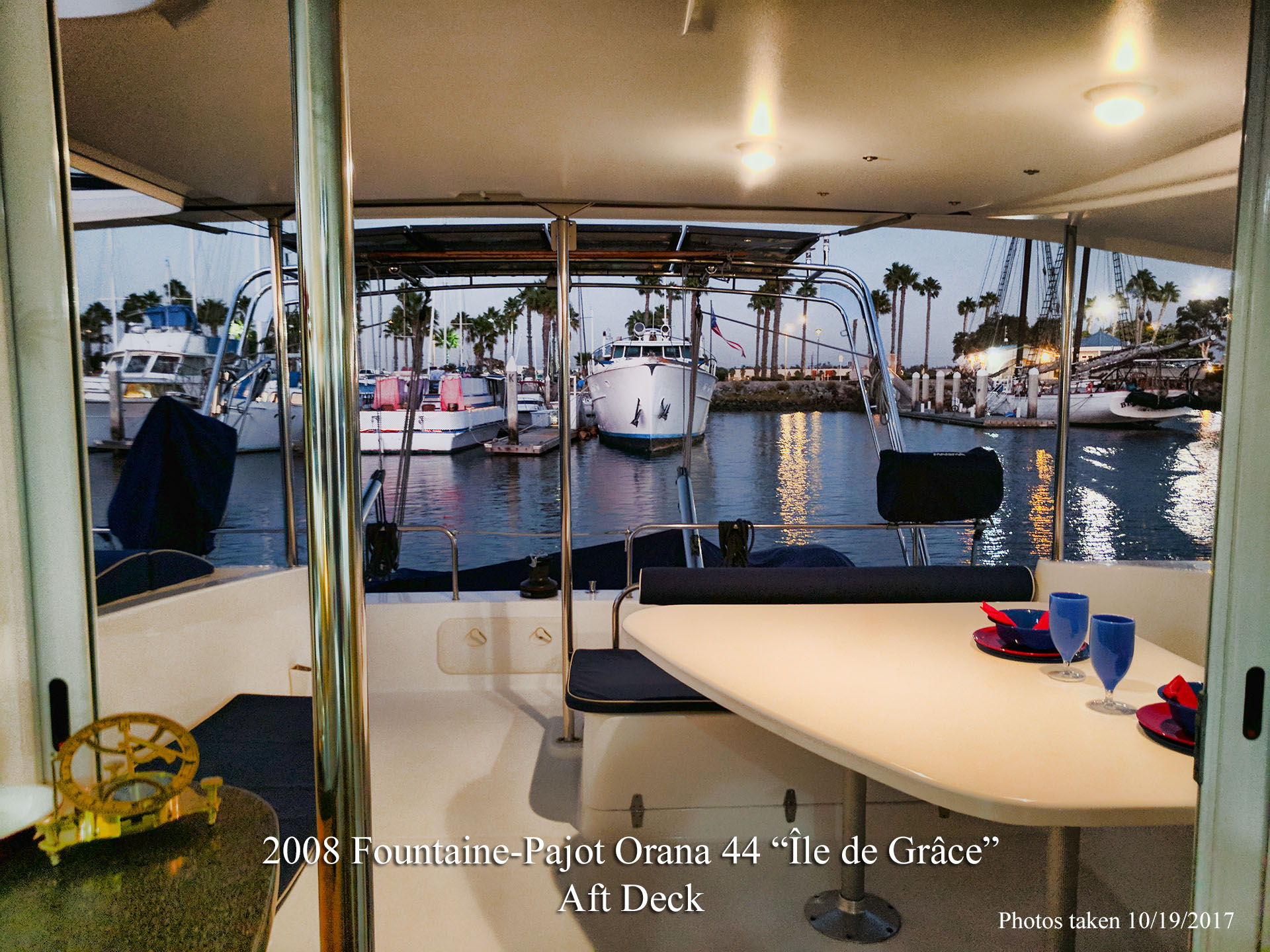 Fountaine Pajot Orana 44 Ile De Grace Catamaran for sale in San Diego