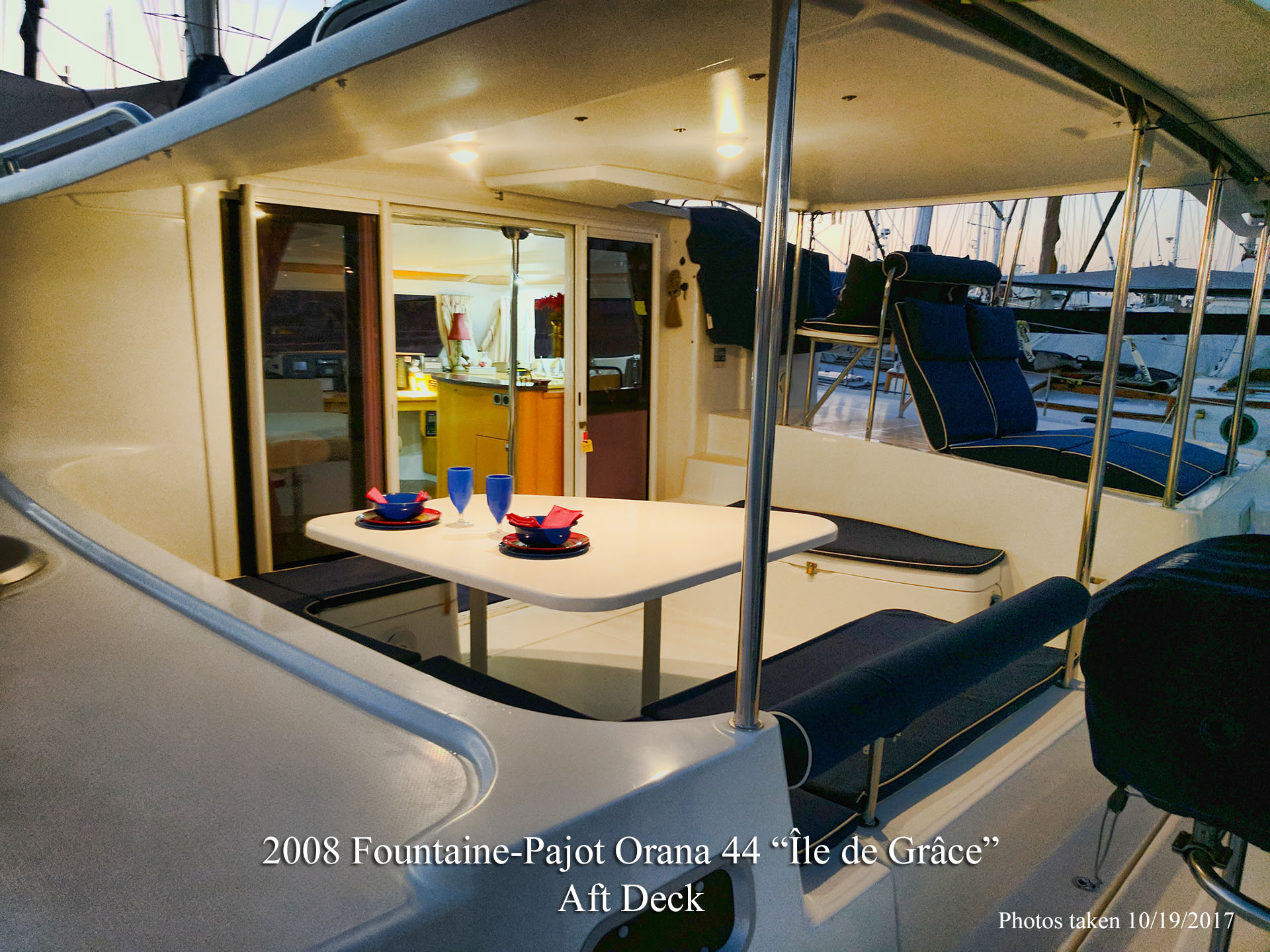 Fountaine Pajot Orana 44 Ile De Grace for sale in San Diego