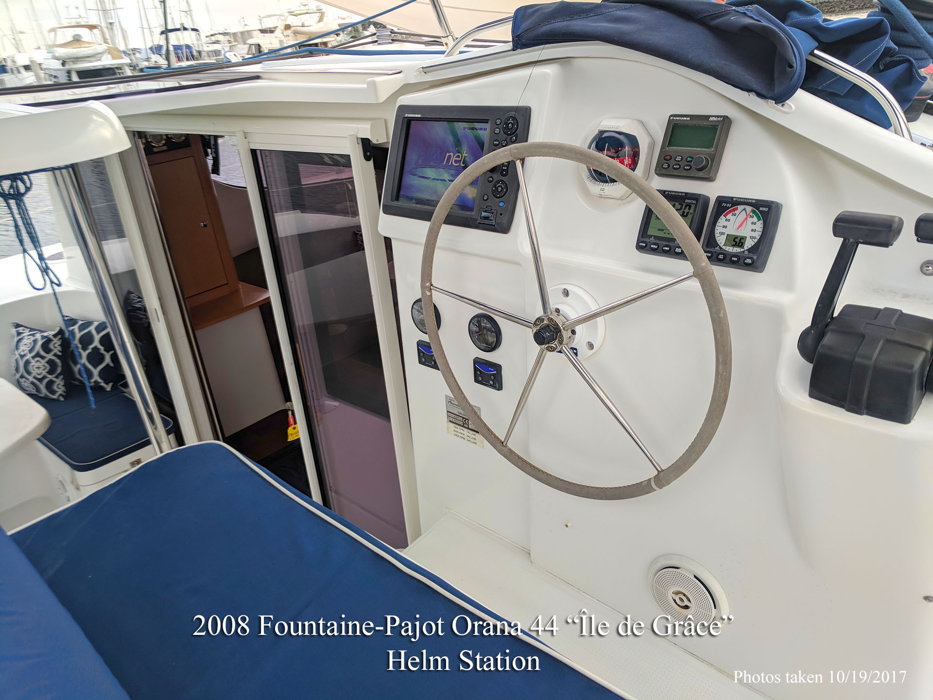 Fountaine Pajot Orana 44 Catamaran for sale in San Diego California
