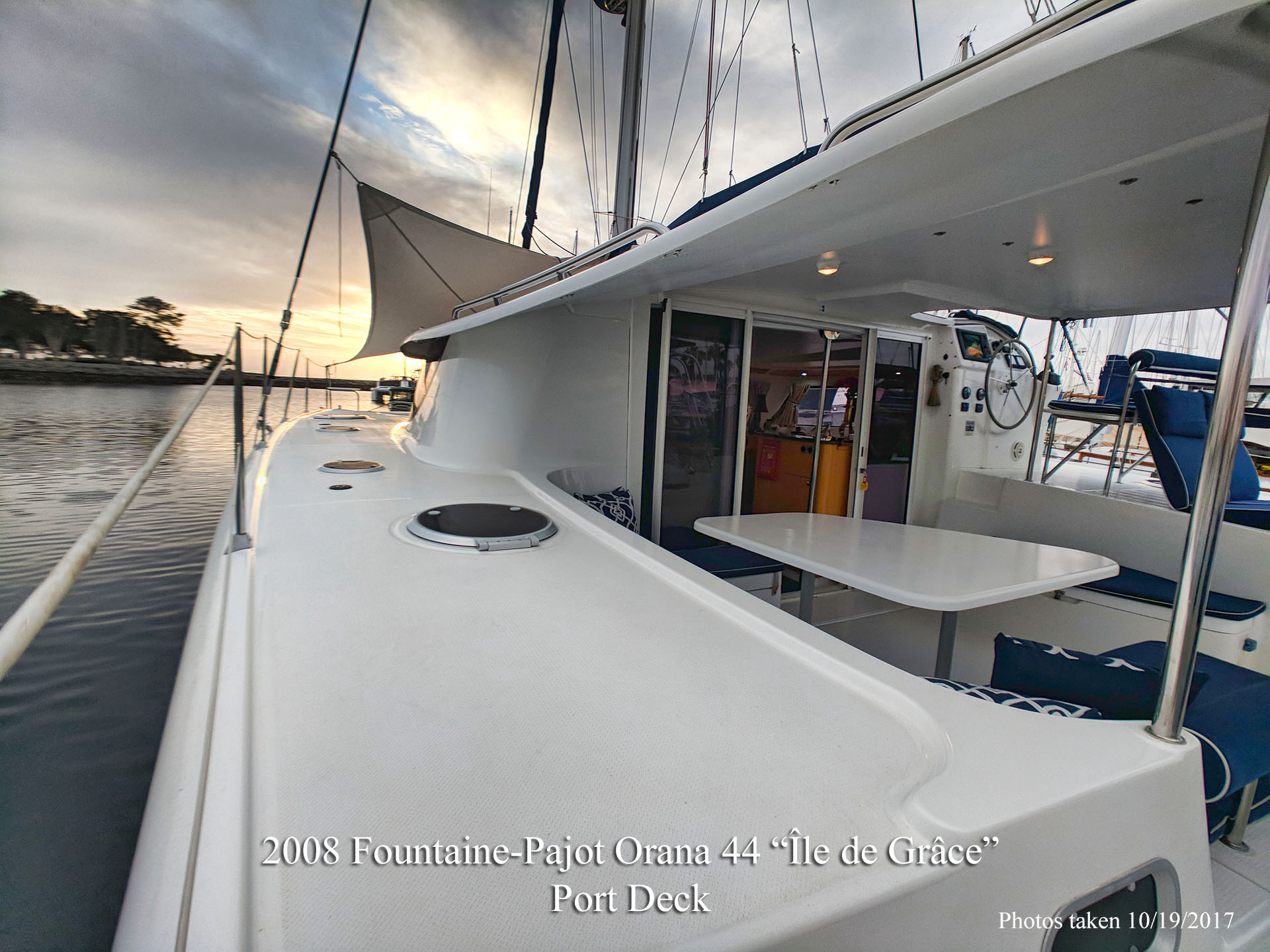 Fountaine Pajot Orana 44 Catamaran for sale in San Diego