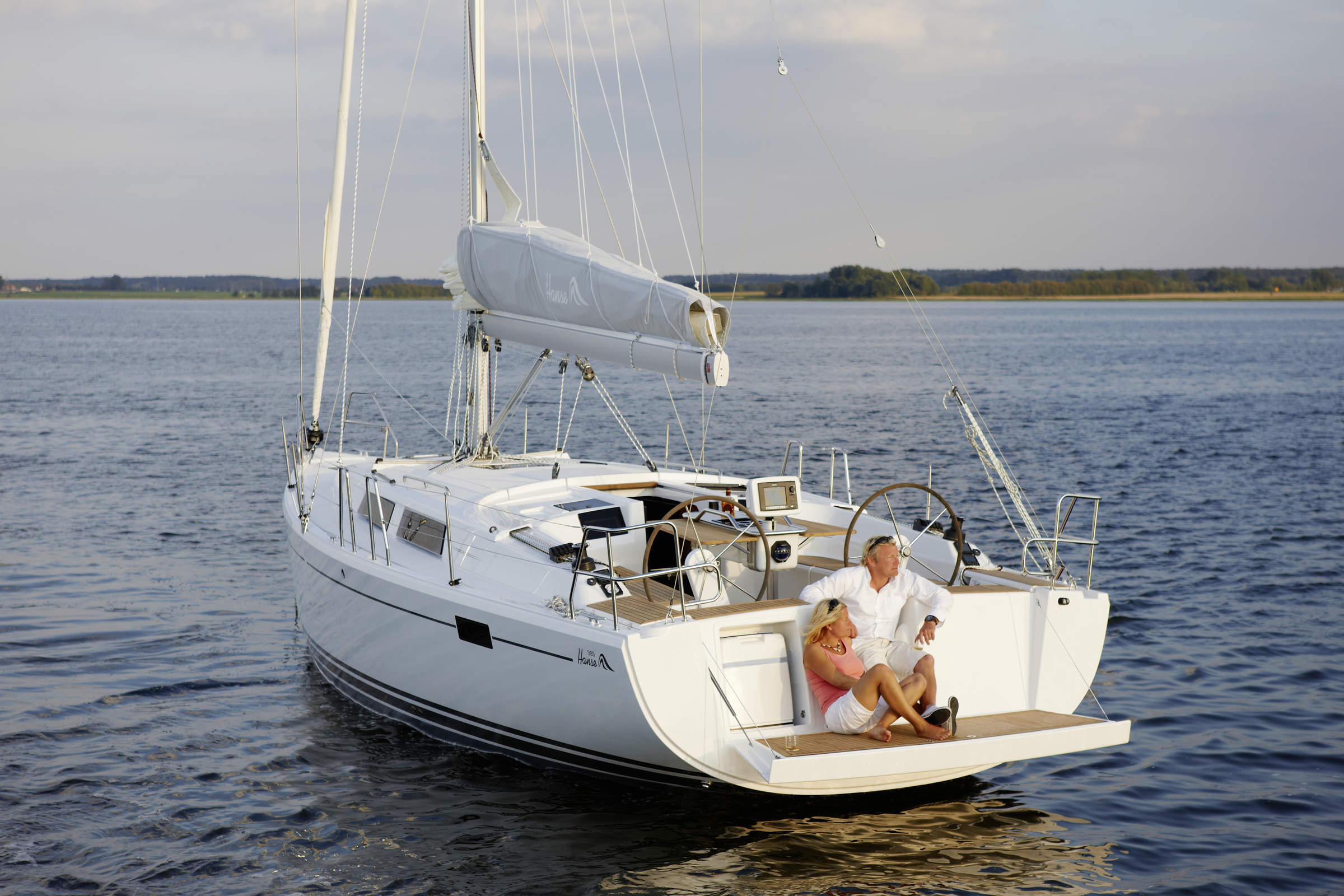 Hanse 385 sailboat for sale