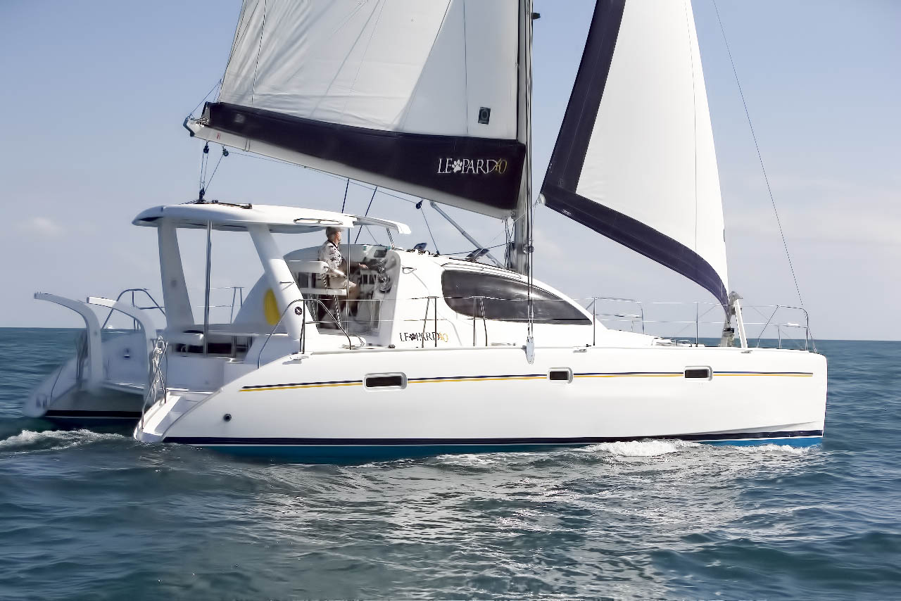 Leopard 40 Catamaran for sale