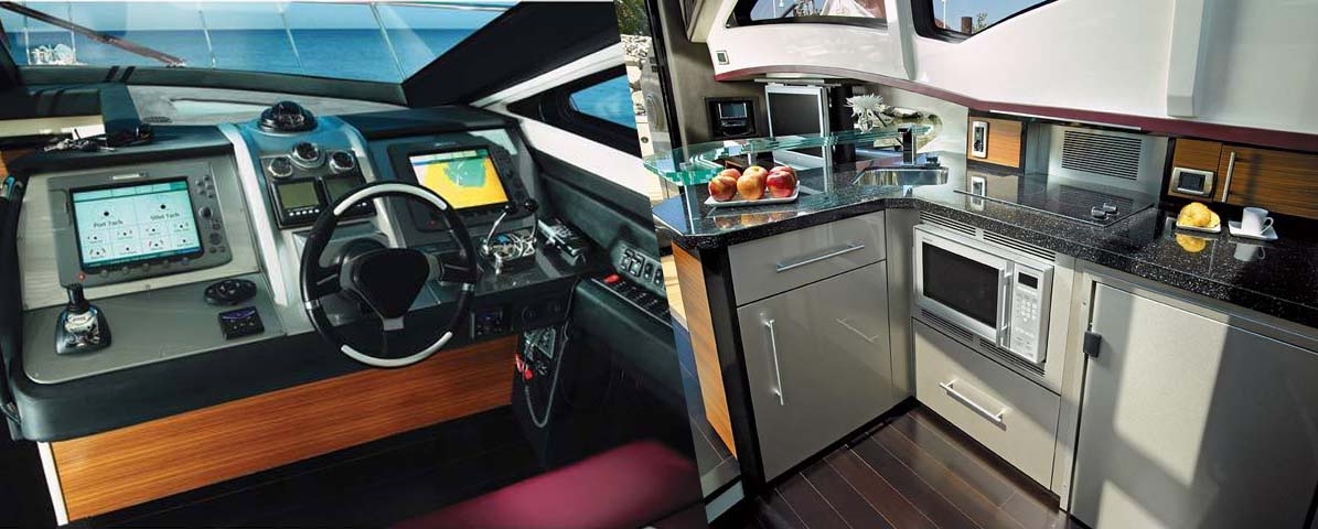 Marquis 40 Sport Coupe Galley