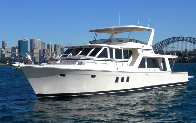 Offshore 62 Pilothouse Profile
