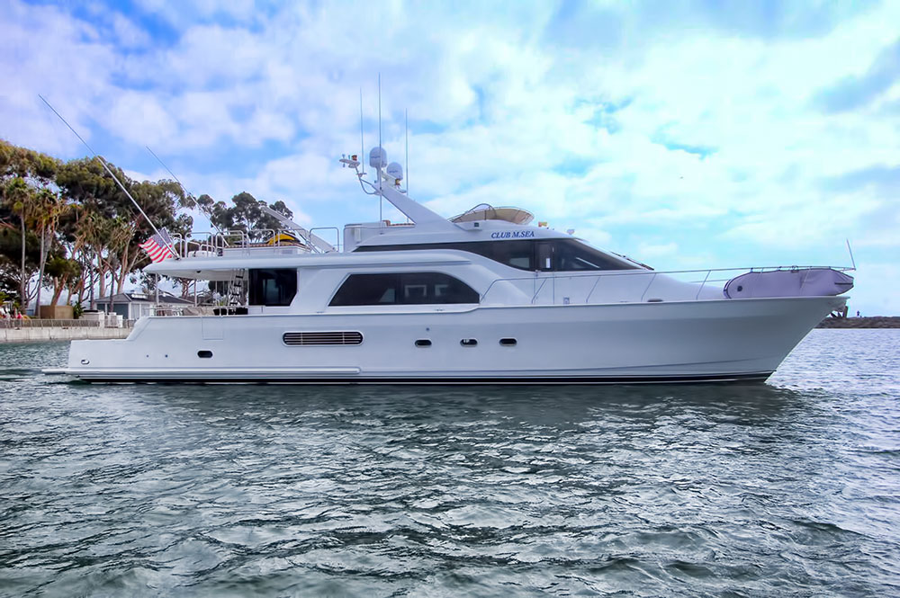 Queenship 70 Pilothouse for sale
