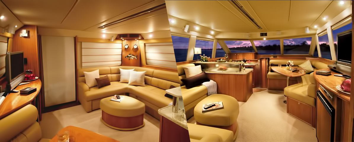 Riviera 47 Open Flybridge Interior