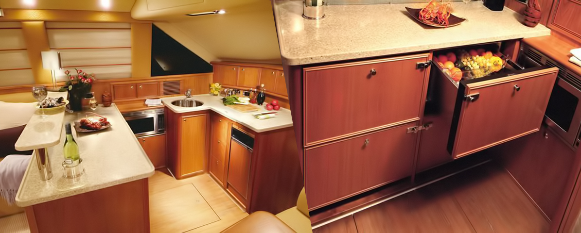 Riviera 47 Open Flybridge Galley