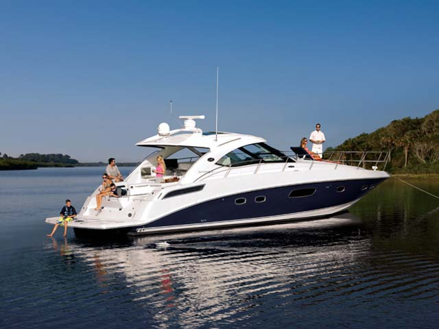 2012 Sea Ray 470 Sundancer Side Profile