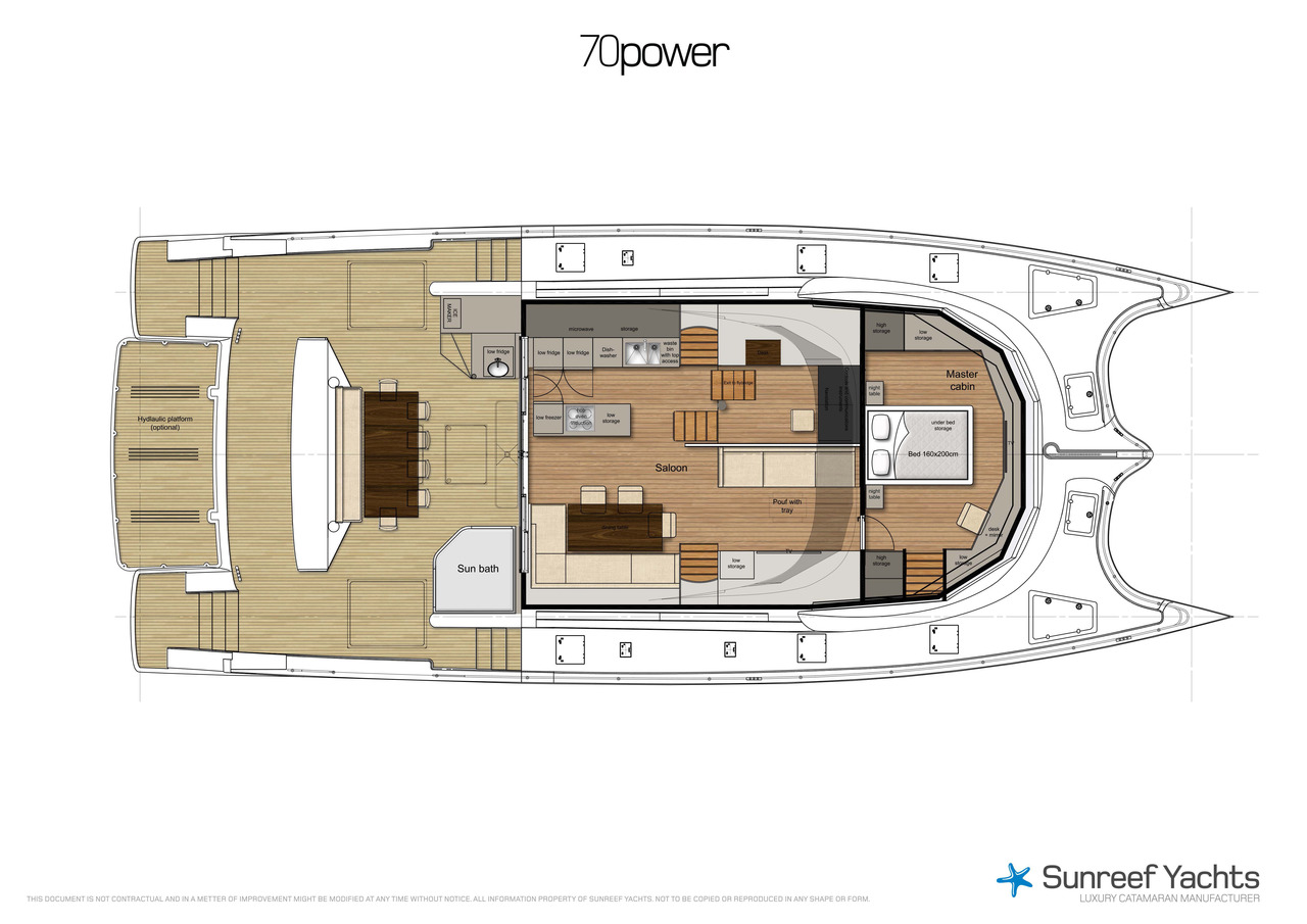 Sunreef 70 Power Catamaran
