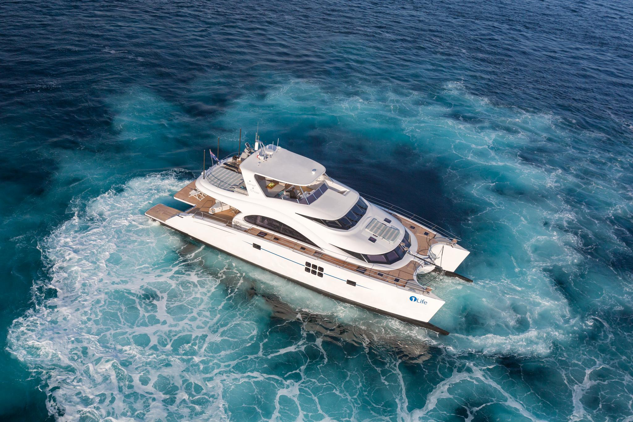 Sunreef Power 70 Luxury Catamaran