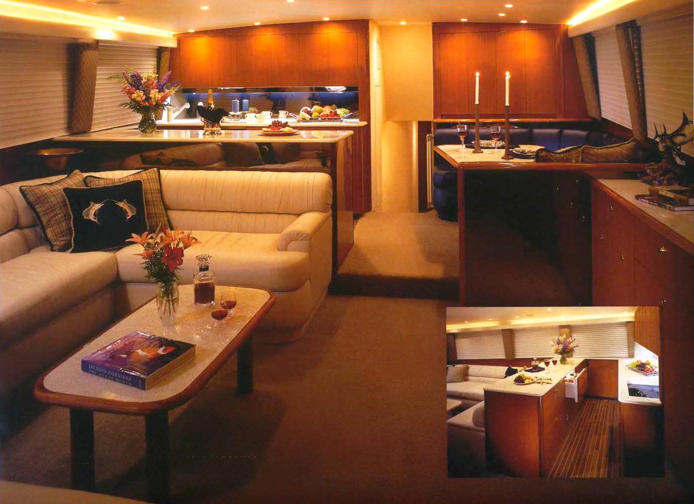 Viking 65 Enclosed Flybridge Salon