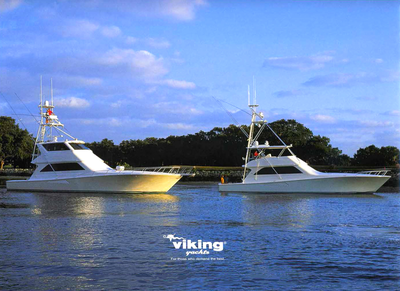 65 Viking Enclosed Flybridge