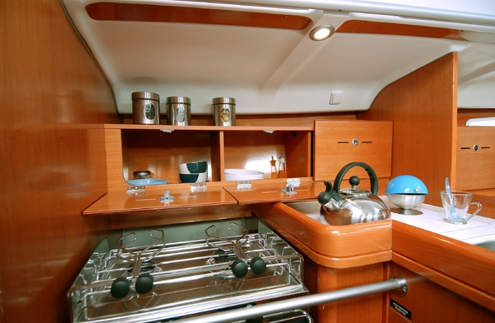 Beneteau First 40.7 Galley