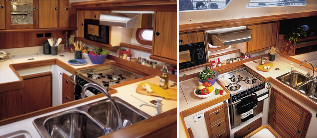 Catalina 470 Galley