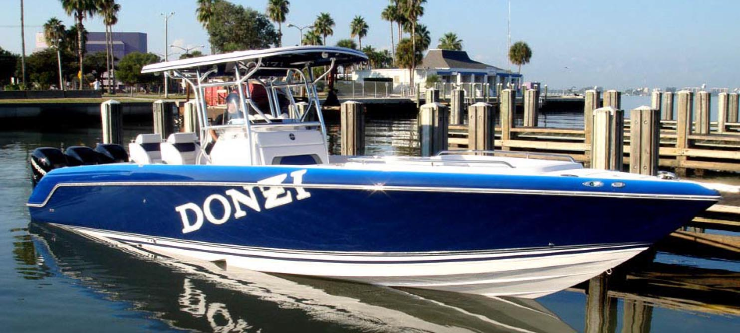 38 Donzi 38ZFX Open for sale