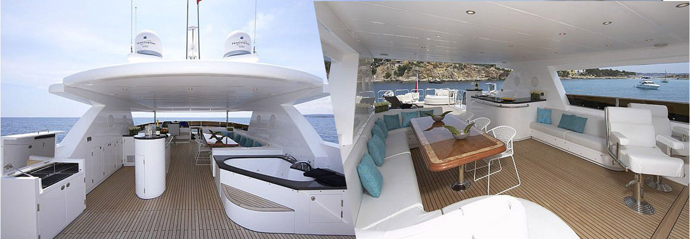Johnson 105 Motoryacht Flybridge