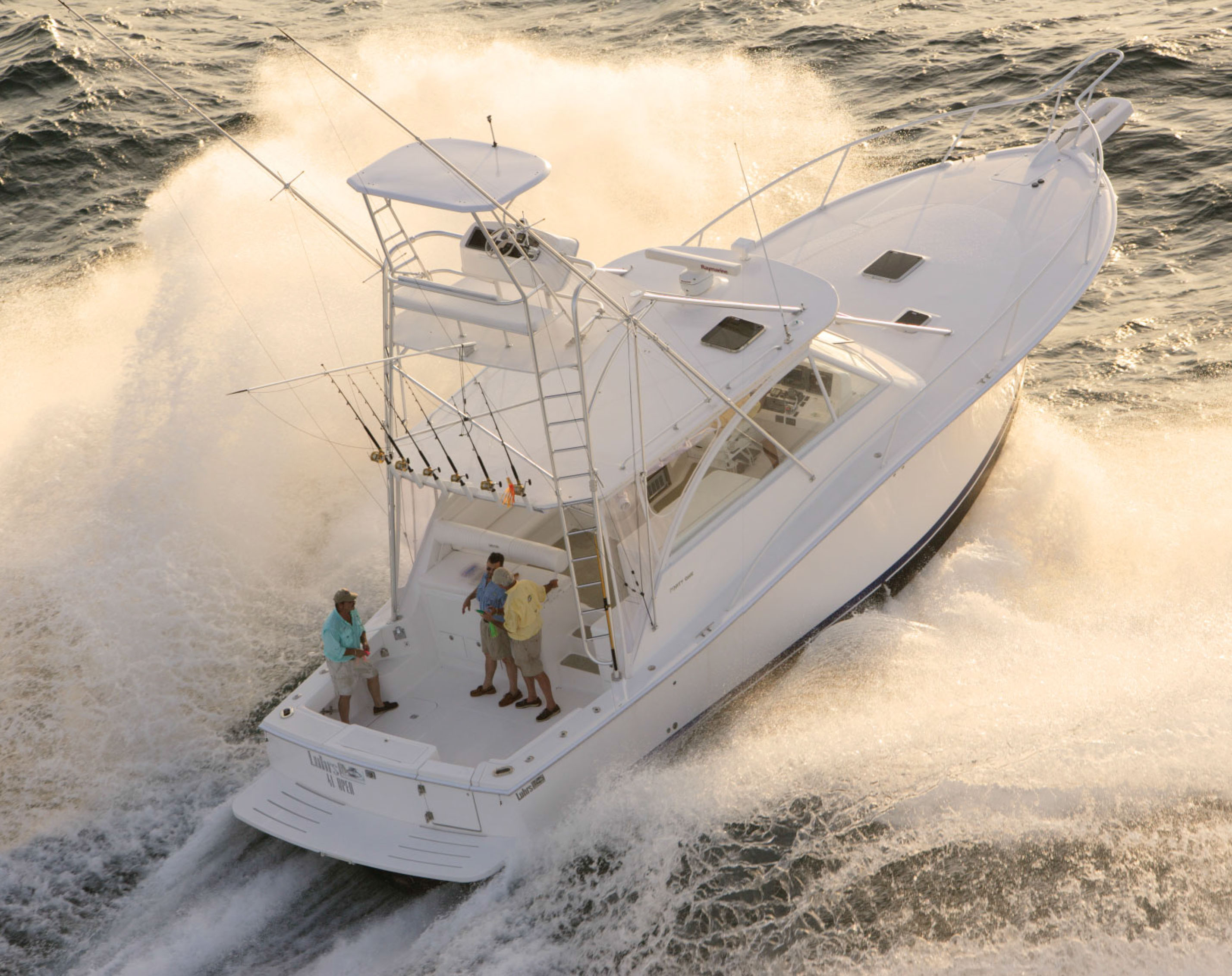 Luhrs 41 Open sportfisher for sale