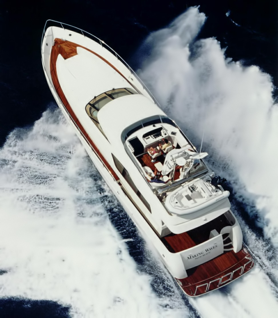 Mckinna 65 Pilothouse Run