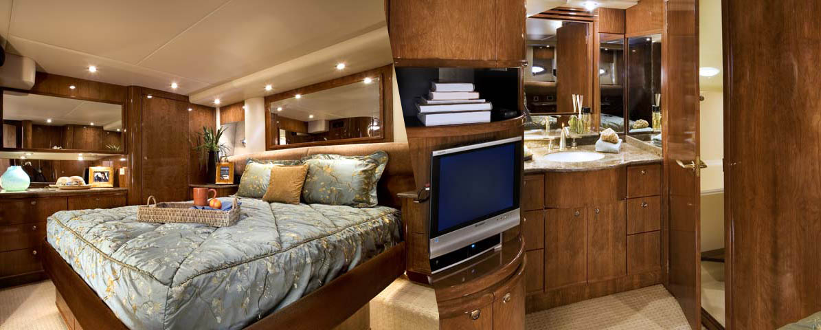 Meridian 580 Pilothouse Master Stateroom