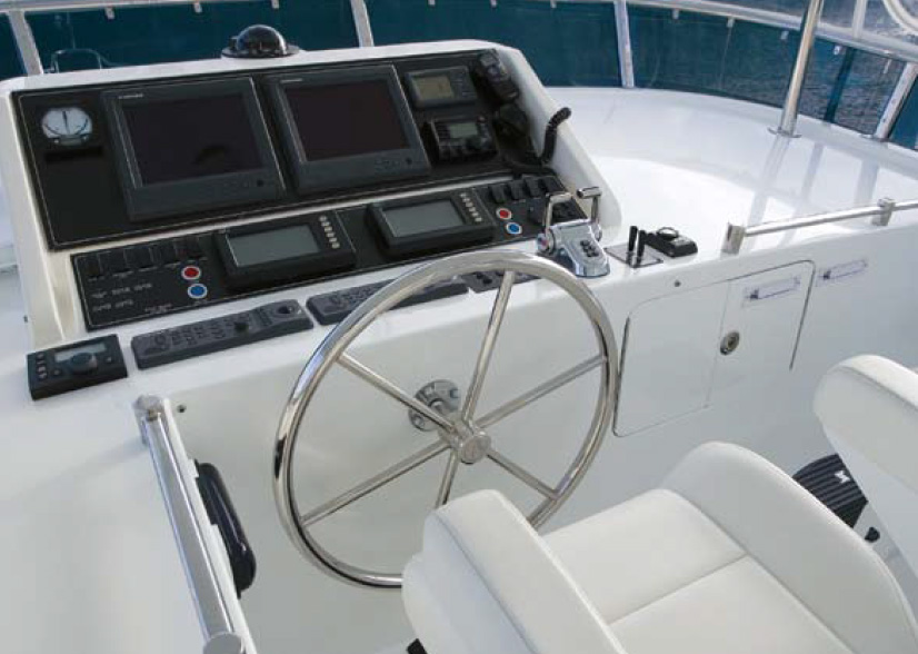 Ocean Alexander 64 Pilothouse Cockpit