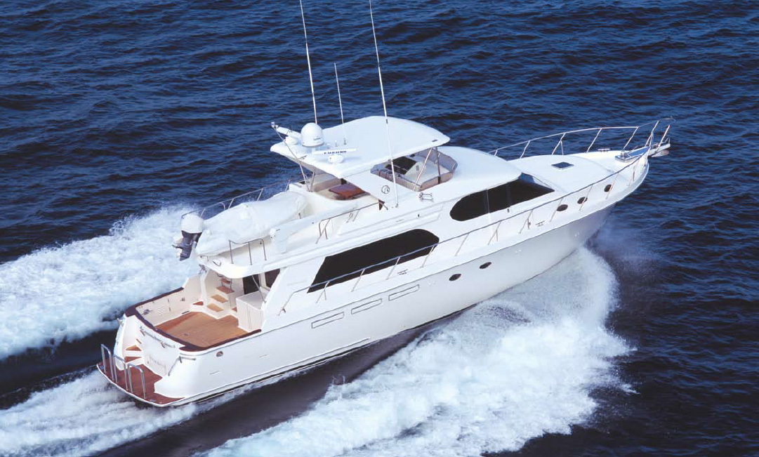 Ocean Alexander 64 Pilothouse Running
