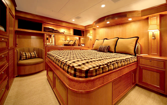 Offshore 72 Pilothouse Master Cabin