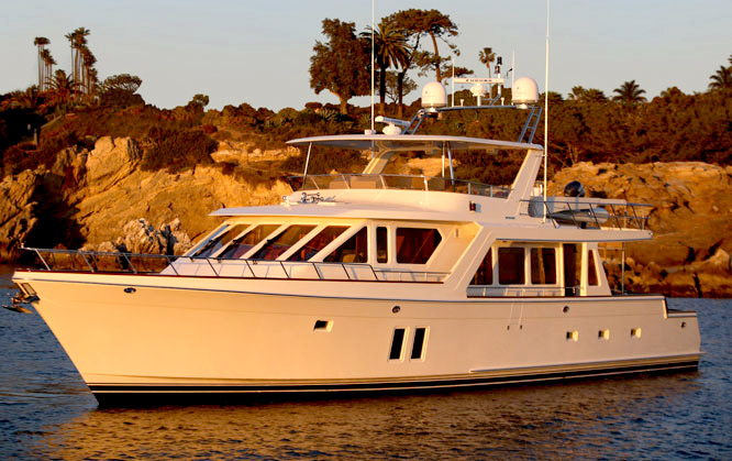 Offshore 72 Pilothouse Profile