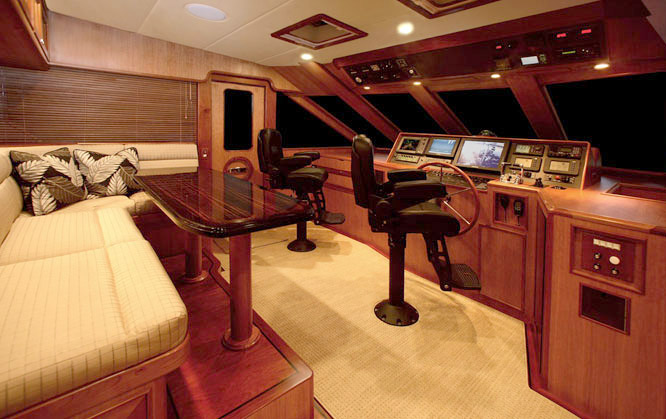 Offshore 72 Pilothouse Bridge