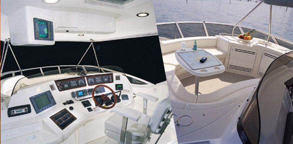 2001 Sea Ray 560 Sedan Bridge for sale