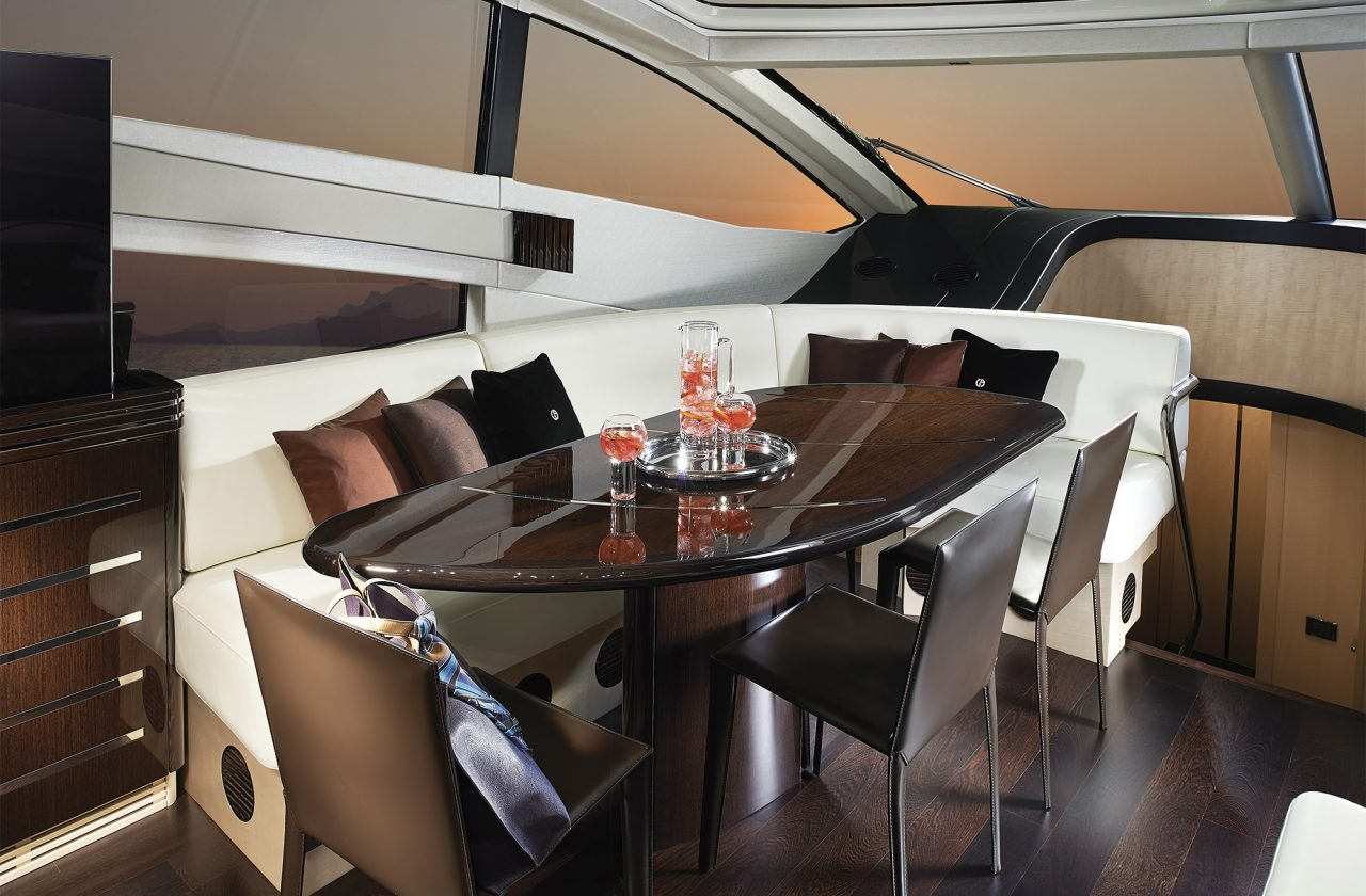 Sunseeker 68 Sport Yacht Dining Table