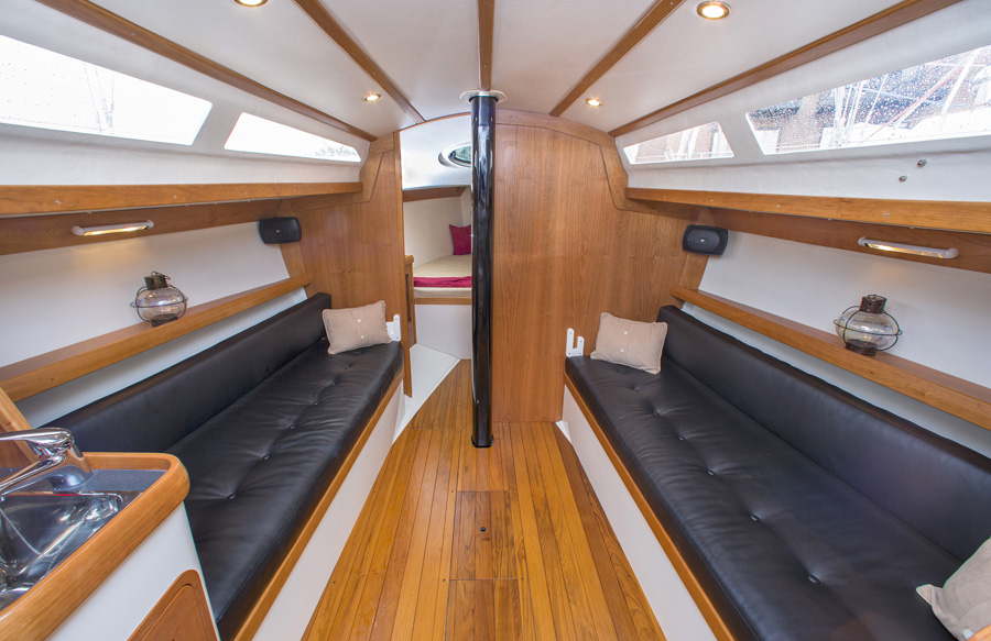 Tartan 101 Sailboat Interior