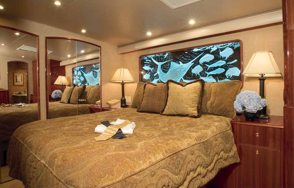 Viking Yachts 68 Enclosed Bridge Master Stateroom